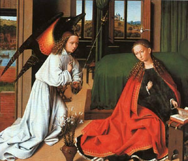 Annunciation 1452 xx gemaldegalerie at berlin